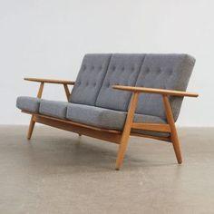 Hans Wegner GE240 Cigar Sofa http://www.themodernwarehouse.com/: