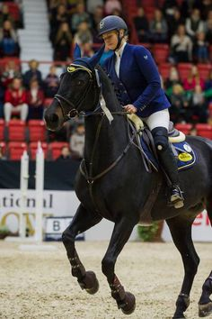 A double victory to Finland on Sunday morning in the time class. Good luck Sanna Backlund! Helsinki International Horse Show, Finland, October 2016