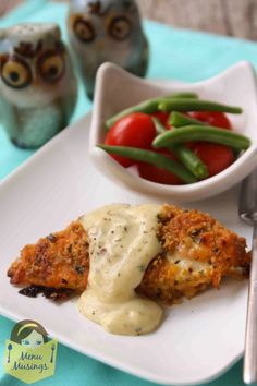 Menu Musings of a Modern American Mom: Ritzy Cheddar Baked Chicken