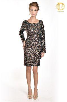Pat bo by Dona Rica vestido preto luxo
