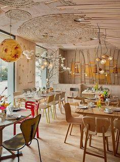 Restaurante ecológico Mama Campo, en Madrid, España