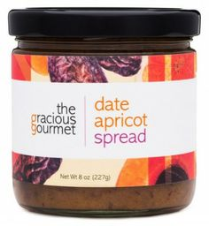 Date Apricot Spread - The luscious flavor of #dates paired with #apricots, fragrant #spices and orange juice makes you dream of lounging in a casbah! Serve this delicious Middle Eastern inspired spread with just about anything,