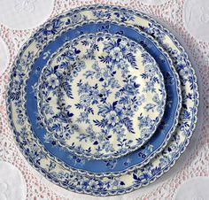 blue chintz - devon cottage