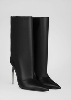 Knee High Boots, Over The Knee Boots, Ankle Boots, Gianni Versace, Bootie Boots, Shoe Boots, Shoes, Versace Jeans Couture, Clear Heels