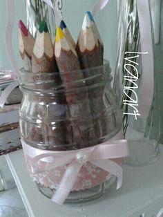Lápis em vidro