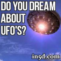 Have you ever dreamt about seeing a UFO or being aboard one? What do these types of dreams mean?