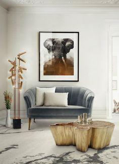 Samt Sofa | Wohndesign | Wohnzimmer Ideen | BRABBU | Einrichtungsideen | Luxus Möbel | wohnideen | www.brabbu.com