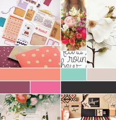 for a boutique - mood board // Breanna Rose Web Design, Boutique Design, A Boutique, Color Inspiration, Moodboard Inspiration, Inspiration Boards, Mood And Tone, Diy Craft Projects, Crafts