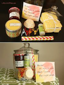 DIY Housewarming Gift in a Jar