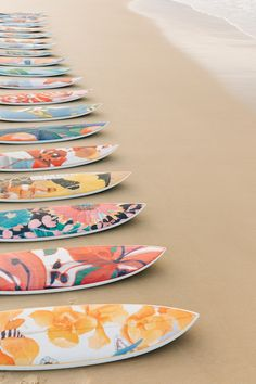 Sports activities Decorative Surfboards Collection by Nusa Indah's collaboration with Lulu DK to the Cove Atlantis Custom Surfboards, Surfboard Art, Surfboard Painting, Skateboard Art, Skateboard Design, Sup Surf, Roxy Surf, Wakeboarding, Longboarding