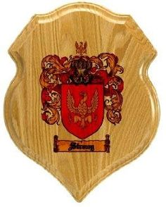 $34.99 Strong Family Crest Plaque / Coat of Arms Plaque.  at www.4crests.com - Your family coat of arms on a thick, beveled edge 12 inch oak plaque.  Manufactured by: Family Crests Store Merchant SKU: strong:plaque Thick Oak Family Crest Wall Plaque Great gift for anyone Family coat of arms / family crest printed in full color A great item for genealogy enthusiasts Hang on your home or office wall