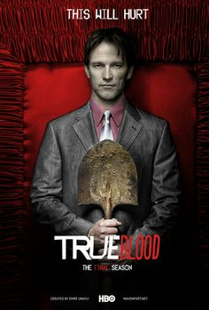True Blood - Another one of my all time favorite shows is ending. Best Tv Shows, Favorite Tv Shows, Serie True Blood, Blood Photos, Vampire Shows, Eric Northman, Werewolf, My Books, Novels