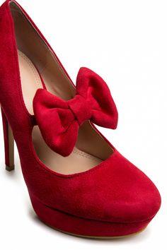 50's pumps | ... schoenen booties laarzen plateau pumps mary jane pumps rode pumps tags
