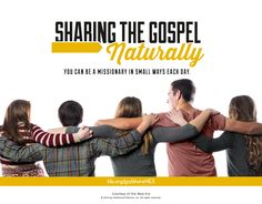 Simple ways to share the gospel and be a member missionary.