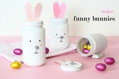 Cómo hacer conejitos de Pascua (Mucho Divertido) | http://www.conbotasdeagua.com/como-hacer-conejitos-de-pascua-mucho-divertido/