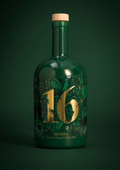 Scandinavian Design Group designed the packaging for the Blossa Annual 2016 Glögg, a favorite in Sweden, taking inspiration from Swedish wildwood and mysterious forests.