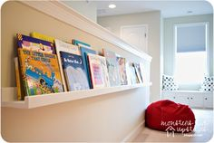 $10 Ledges Reading Nook   Do It Yourself Home Projects from Ana White