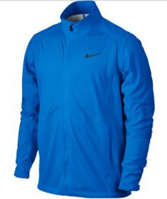 Nike Hyperadapt Storm-FIT Full-Zip - golfjakke til mænd Nike Golf, Mens Golf Jackets, Nike Clothes Mens, Cold Weather Jackets, Golf Pants, Training Tops, Camisa Polo, Body Warmer, Photo Blue