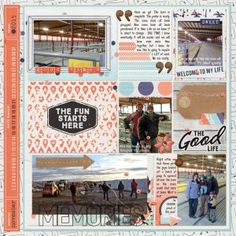 Digital Layout | Dakota Ready To Go Pages by Just Jaimee