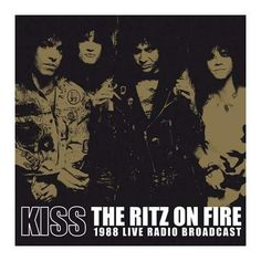 "L'album live dei #Kiss intitolato ""The Ritz On Fire"" con le registrazioni del concerto del 1980, su doppio vinile."