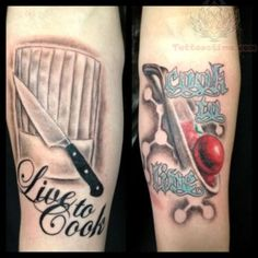 chef tattoo - Google zoeken