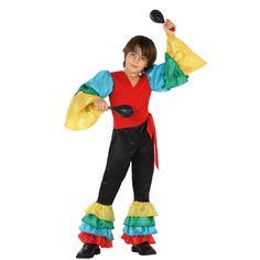 Disfraz de Rumbero Tropical Infantil #disfraces #carnaval