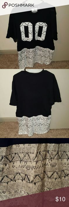 Double 0 t-shirt NWOT!!! on the byas Shirts Tees - Short Sleeve