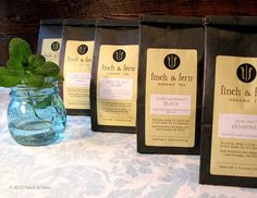 8 Organic Teas - Loose Leaf Tea SAMPLER SET
