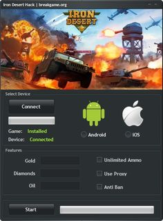 Iron Desert Hack Unlimited Gold Cheat Android Download…