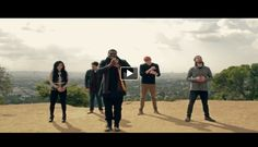 Another great music video published by the popular American a capella group – Pentatonix. Listen to their incredible and clear voices as they perform an awesome a capella version of the classic christmas Song  'Little Drummer Boy'.  There is also a beautiful view from the city in the background.