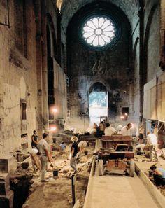 Fouilles, Cathédrale Saint- Jérôme, Digne-les-Bains