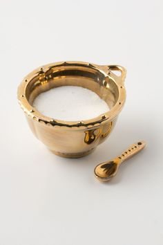 Artisan Mini Salt Cellar - available in 6 colors.  dang you, Anthropologie.com, and all of your cute kitchen accessories!