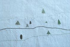 bordados: bordados a mano // handmade emboidery - pinitos