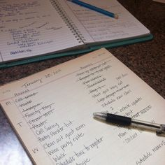 My Personal To-Do List Strategy...tips for increasing productivity throughout the week.