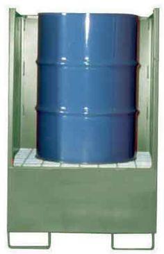 CUBETOS CON LATERALES. VD1. Con laterales y trasera en chapa de 3 mm.