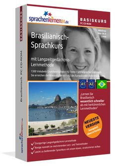 Brazilian  Beginner Course  for English speakers as a download Sprachenlernen24