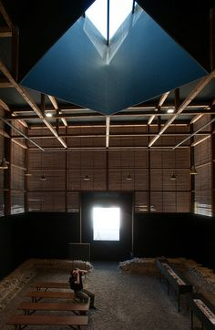 Shelters for Roman Archaeological Site / Peter Zumthor