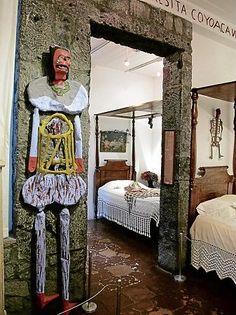 Frida Kahlo's home Casa Azul #Mexico #Coyoacan