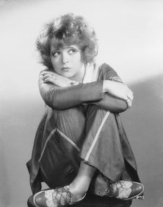 Clara Bow in trousers.