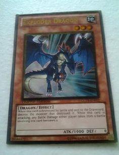 Exploder Dragon - GLD3-EN012