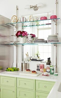 idea for above the sink with no window For the Home Pinterest