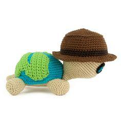 Globetrottoise Amigurumi Pattern Cute Crochet, Crochet Toys, Amigurumi Patterns, Crochet Patterns, Crochet Turtle, Earth Day, Miniatures, Sewing, Projects