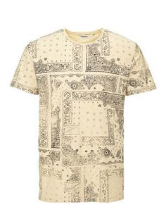 ALL OVER PRINTED T-SHIRT, Fog