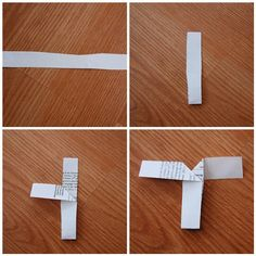 simple folded paper drop helicopters for extra in elem. craft room