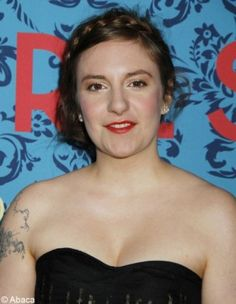 Lena Dunham. Writer, actress, director. funny fem.