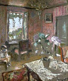 The Pink Room, c.1903 - Edouard Vuillard