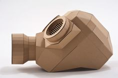 My private project. The cardboard gas mask. Cardboard Costume, Cardboard Mask, Cardboard Model, Cardboard Box Crafts, Cardboard Sculpture, Gas Mask Art, Masks Art, Mask Template, Paper Animals