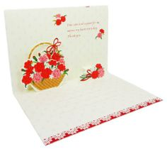 On Mother's Day Pop Up Greeting Card - Carnations in Basket Pop Up Card Sanrio,http://www.amazon.com/dp/B00JP0085I/ref=cm_sw_r_pi_dp_PLjBtb0P3NM77JF1