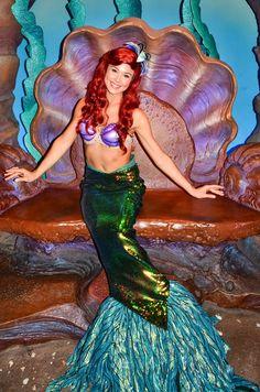 Ariel Ariel Disney World, Disney World Princess, Disney Love, Disney Magic, Disney Parks, Disney Cosplay, Ariel Cosplay, Little Mermaid Movies, Ariel The Little Mermaid