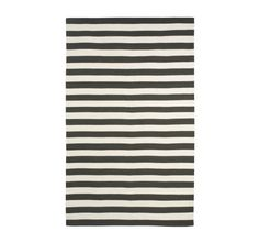 DRAPER STRIPE INK/CREAM RUG